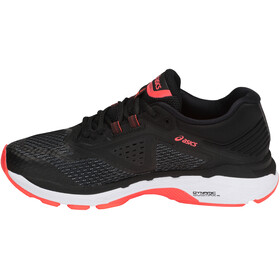 asics GT-2000 6 Shoes Women Black/Flash Coral